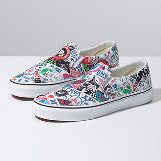 021e82d1b02b White Slip On Vans - ShopStyle
