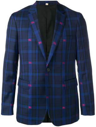 Burberry Equestrian Knight check jacket