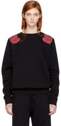 Marcelo Burlon County of Milan Black Apleng Sweatshirt