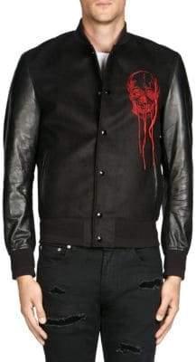 Alexander McQueen Skull Wool Jacket