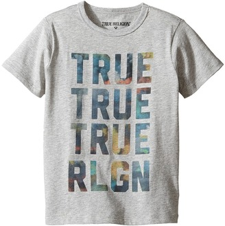 True Religion Kids Cloudy TR Tee (Toddler/Little Kids) $39 thestylecure.com