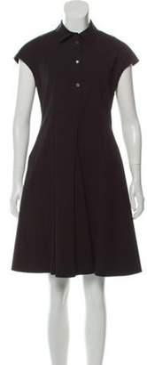 Michael Kors A-Line Knee-Length Dress Black A-Line Knee-Length Dress