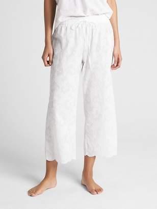 Gap Dreamwell Floral Wide-Leg Pants