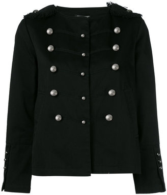 Twin-Set double-breasted military jacket $219.97 thestylecure.com