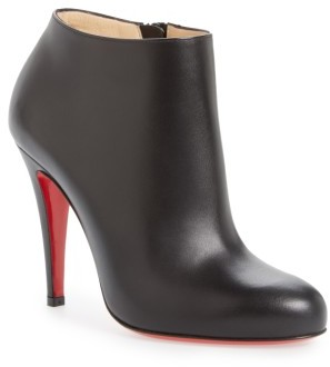 Women's Christian Louboutin Belle Round Toe Bootie $895 thestylecure.com
