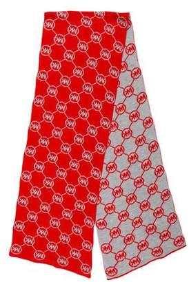 MICHAEL Michael Kors Logo Knit Scarf