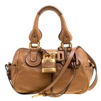 Chloé Paddington Brown Leather Handbag 54b08c2916f65