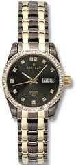 Sartego Women's SCGU64 Classic Analog Face Dial Two-Tone Swarovski Watch