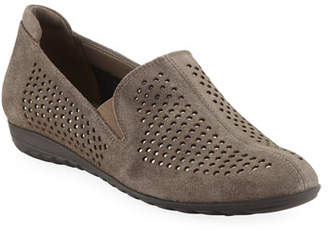 Sesto Meucci Berget Studded Comfort Slip-Ons, Taupe