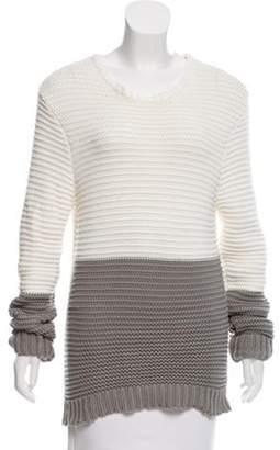 Jonathan Saunders Oversize Knit Tunic grey Oversize Knit Tunic