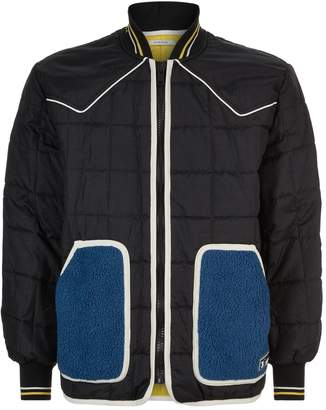 Givenchy Quilted Piped Bomber Jacket