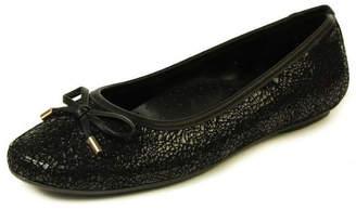 VANELi Black Glitter Flat