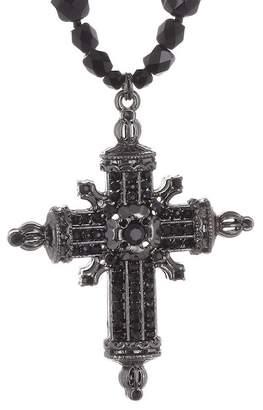 Black Diamond ACCESSORIES Faceted Cross Pendant