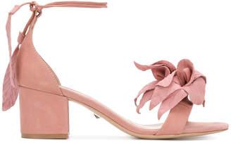 Schutz open toe flower sandals