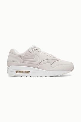 Nike Air Max 1 Premium Suede Sneakers - White