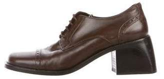 Cordani Leather Brogue Oxfords