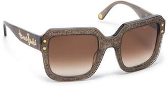 Henri Bendel Veronica Square Sunglasses