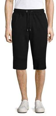 Versus By Versace Logo Cotton Sweatshorts