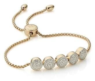 Monica Vinader Fiji Diamond Chain Bracelet