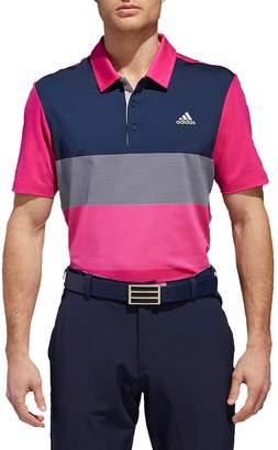 adidas GOLF Ultimate Colorblock Regular Fit Polo Shirt