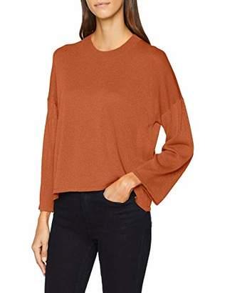 PepaLoves Women's Alejandra Sweater Pumpkin Jumper, Orange 0