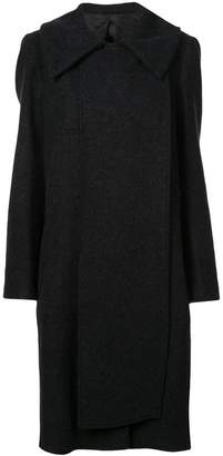 Lemaire single-breasted fitted coat