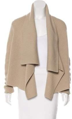 Michael Kors Cashmere Asymmetrical Cardigan