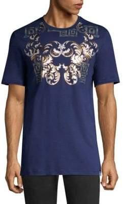 Versace Baroque Collar Tee