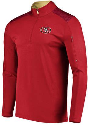Vf Licensed Sports Group Men's San Francisco 49ers Ultra Streak Half-Zip Pullover