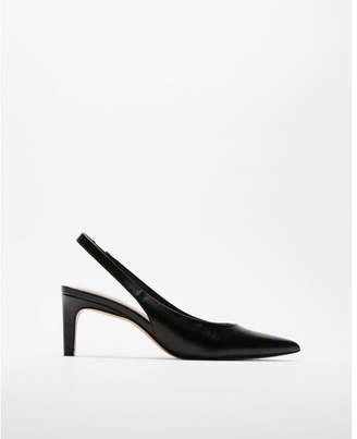 Express slingback kitten heels
