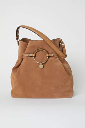 H&M Suede Bag - Beige