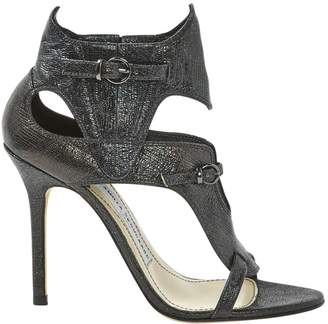 Camilla Skovgaard Black Leather Heels