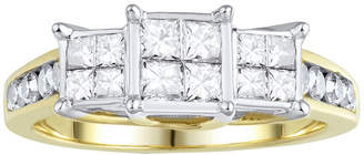 JCPenney MODERN BRIDE Love Lives Forever 1 CT. T.W. Diamond 10K Yellow Gold Ring