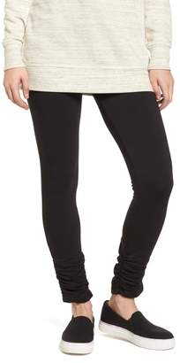 Caslon Off-Duty Side Ruched Leggings