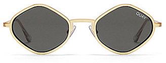 Quay Australia #QUAY X KYLIE Purple Honey Geometric Sunglasses $75 thestylecure.com