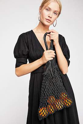 Nunoo Crista Beach Net Leather Bag