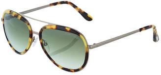 Tom Ford Aviator Metal Sunglasses