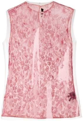 Calvin Klein overlay floral top