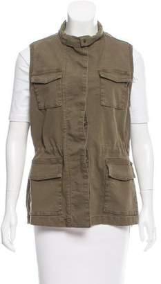 J Brand Distressed Cargo Vest