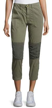Mother Army Racketeer Jogger Pants, Green