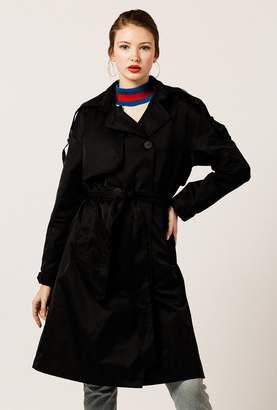Azalea Longline Woven Trench Coat