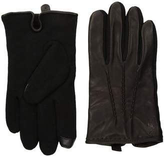 Polo Ralph Lauren Hand Stitched Nappa Touch Gloves Wool Gloves