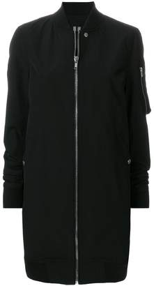 Rick Owens elongated fitted jacket