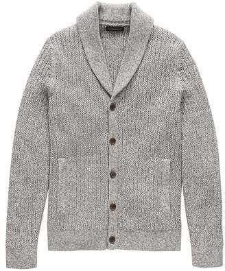 Banana Republic SUPIMA® Cotton Shawl-Collar Cardigan Sweater
