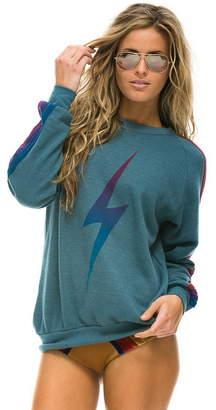 Aviator Nation Bolt Fade Crew Sweatshirt