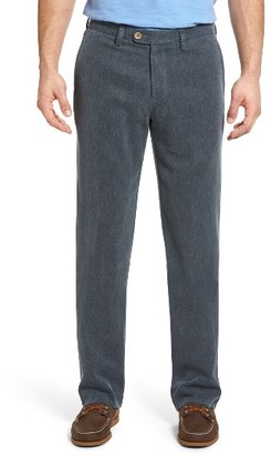 Men's Tommy Bahama Havana Herringbone Silk Blend Chinos $148 thestylecure.com