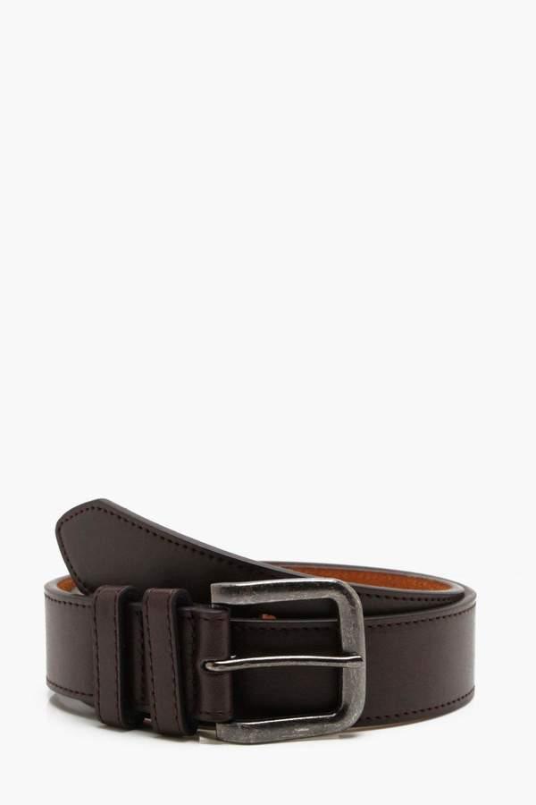 boohoo Antique Buckle Belt