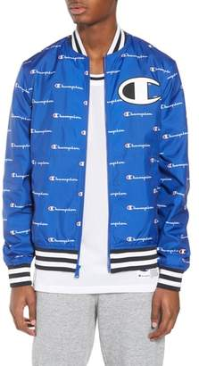 Champion Print Baseball Jacket