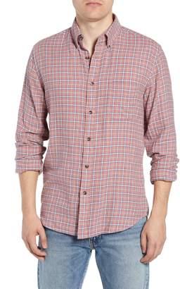 Faherty Pacific Check Organic Cotton Sport Shirt