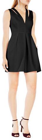 BCBGMAXAZRIABcbgmaxazria Solid Cutout Dress